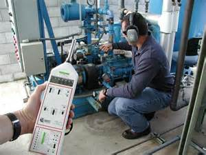 industrial hygiene noise monitoring at a large