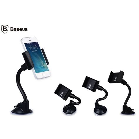 Baseus Curve Car Mount Holder For Smartphone Iphone 4 5 5 Hitam baseus curve car mount holder for smartphone iphone 4 5 5 inch black jakartanotebook