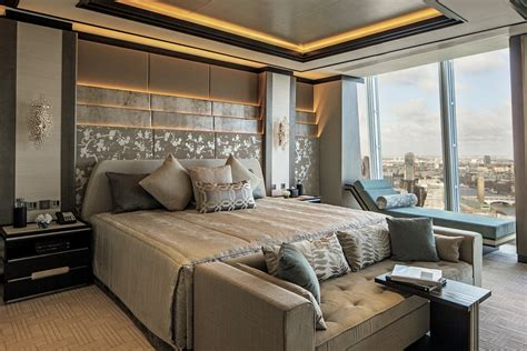 london hotel with jacuzzi in bedroom shard hotel room comes with the best view in london