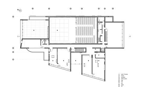 cultural center floor plan gallery of sedan cultural center richard schoeller
