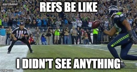Nfl Ref Meme - seriously imgflip