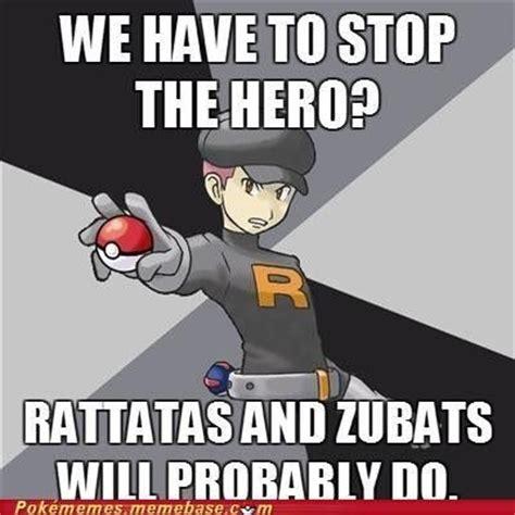 Team Rocket Meme - team rocket pokemon meme we have to stop the hero