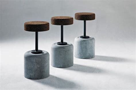 Chagne Cork Bar Stools 1000 images about cork on plugs furniture