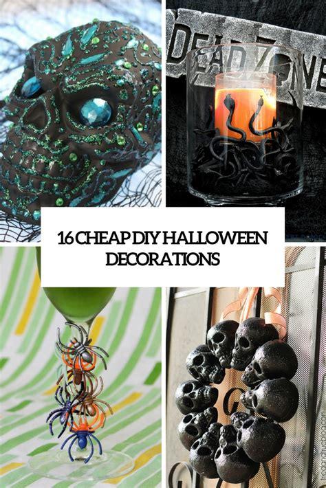 halloween diy 16 cheap diy halloween decorations that won t break the