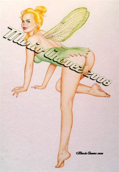 tinkerbell painting free tinkerbell painted by mariochavez on deviantart
