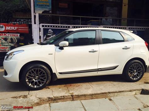 Baleno New Modified White Colours by Maruti Baleno Official Review Page 11 Team Bhp
