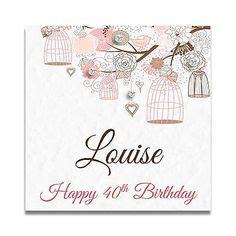 Special Friend 30th Birthday Card Handmade Personalised Ladies 60th 70th 80th Nan Gran