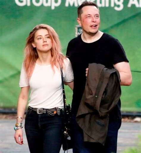 is amber heard dating elon musk after johnny depp divorce amber heard refused elon musk for a long time us weekly
