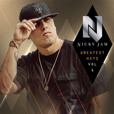 nicky jam greatest hits car 225 tula frontal de nicky jam greatest hits volumen 1