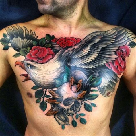chest tattoo backgrounds 100 incredible eagle tattoo design ideas