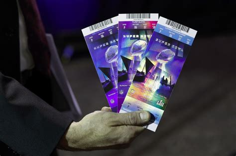 tattoo ticket prices super bowl ticket prices still affected by shortage in