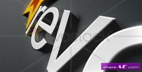 3d logo after effects template 3d logo animation v2 after effects project revostock