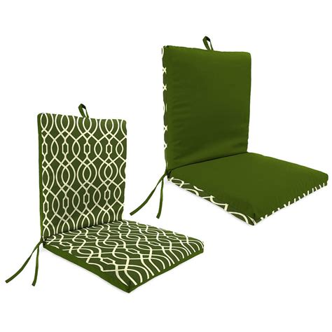 green outdoor chair seat cushion pad replacement comfort durable patio furniture ebay