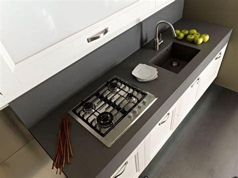 piano cottura granito alternativa al marmo in cucina cucina opzioni