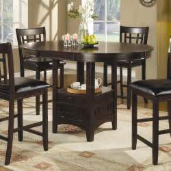 Height Of Dining Room Table by Counter Height Dining Room Table Sets 4 Best Dining Room
