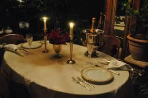dinner at home lines from linderhof november 2011