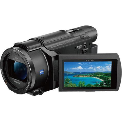 sony 64gb fdr axp55 4k handycam with built in fdr axp55 b h