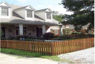 wood fence front yard wooden fence front yard wooden home