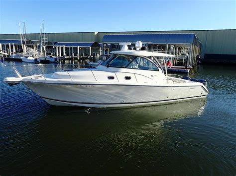 2014 used pursuit 385 offshore express sports fishing boat
