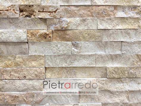 rivestimenti in pietra interni prezzi rivestimento in pietra quot travertino 50 offerta 66 mq quot