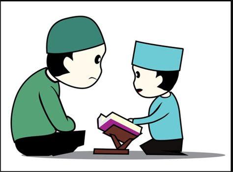 wallpaper anak mengaji gambar kartun anak muslim mengaji gambar pedia