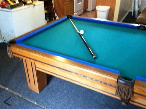9ft pool table for sale gandy pool table espotted