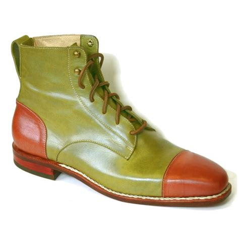green gibson boot exit shoes