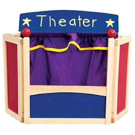 Mother Daughter House Plans Tabletop Puppet Theatre A Mighty
