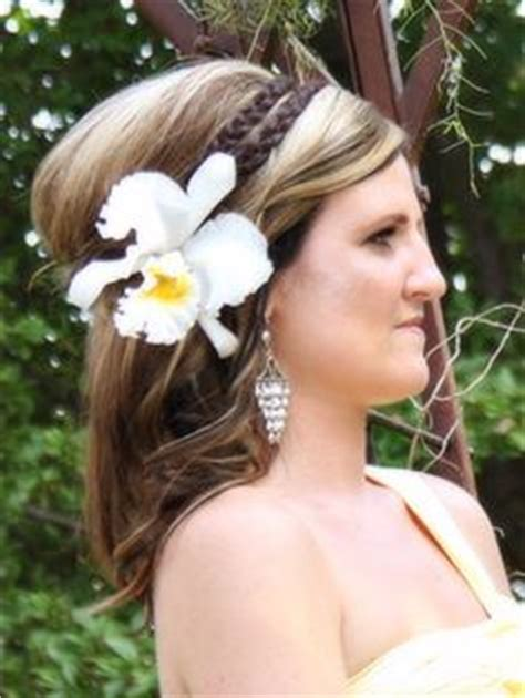 Wedding Hair With Orchids by 1000 Images About Hairstyle With Orchid On
