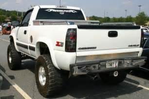 lifted 2000 chevy silverado 1500 4x4 z71 truck