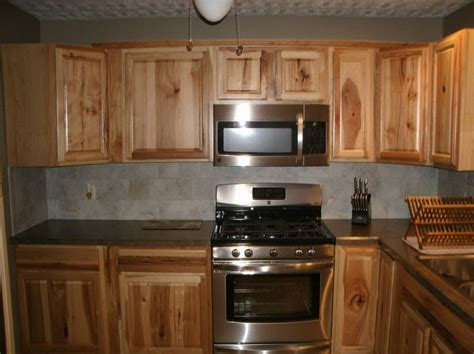 natural hickory kitchen cabinets 65 best images about hickory cabinets and on pinterest