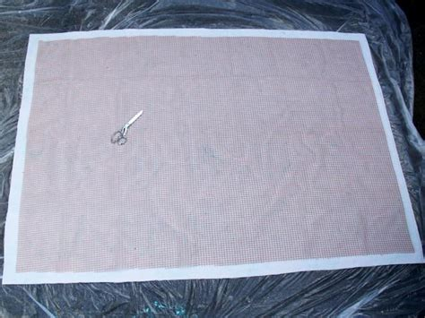 diy painted canvas rug how to stencil paint an outdoor rug how tos diy
