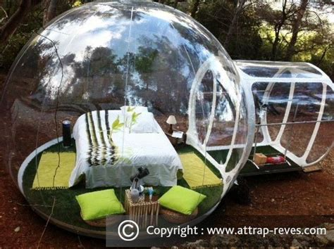 chambre bulle dans la nature dormir dans une bulle 224 attrap r 202 ves puget pour une nuit