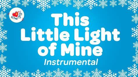 instrumental this light of mine this light of mine instrumental with lyrics