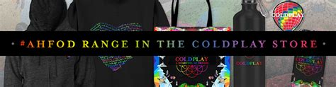 coldplay store coldplay official website