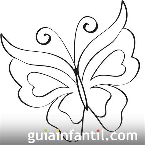 imagenes bonitas para dibujar facil imprime este dibujo de una bonita mariposa se trata de un