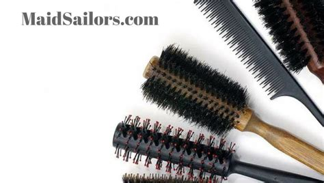 Cleaning Hair From by How To Clean Hair Brushes Sailors