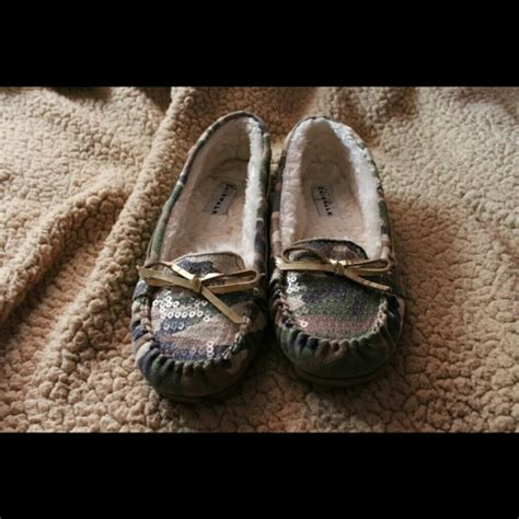 Airwalk Cammo 60 airwalk shoes camo sequined moccasins from ariel