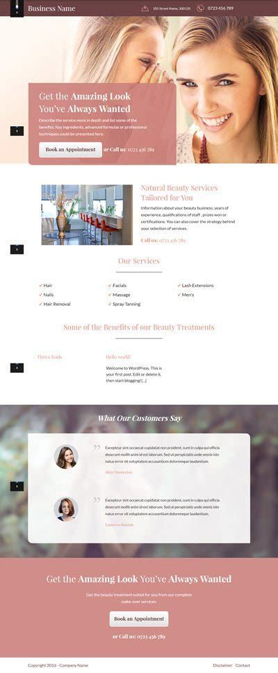 Thrive Themes Launch New Business Landing Page Templates Thrive Themes Templates