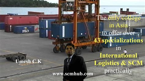 Mba Integrated Course by Best Mba Logistics Supply Chain Management Integrated