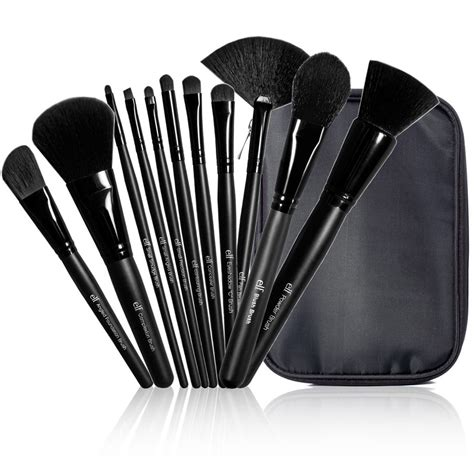 e l e l f cosmetics studio 11 piece brush collection 1 set