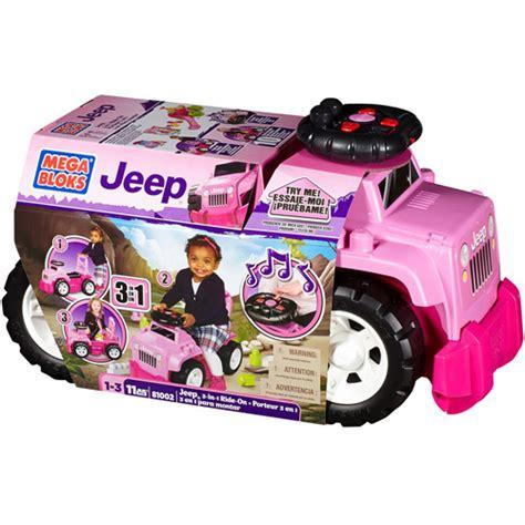 Mega Bloks Jeep Ride On mega bloks jeep 3 in 1 ride on walmart