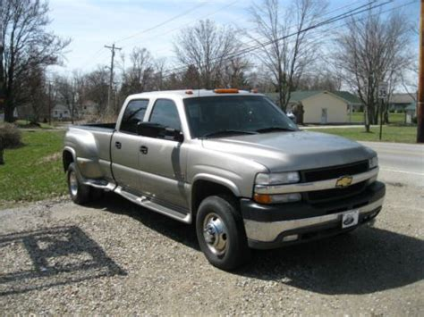 how to fix cars 2001 chevrolet silverado 3500 auto manual buy used 2001 chevrolet silverado 3500 duramax in lawrenceburg indiana united states for