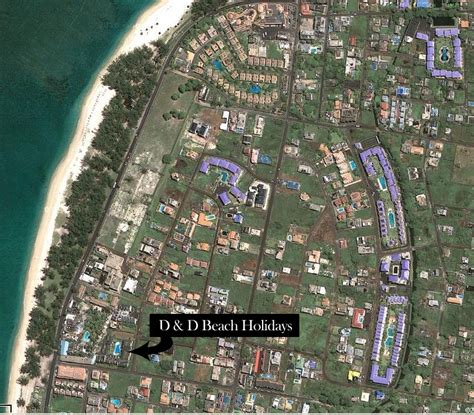 D and D Beach Holidays Flic en Flac Luxury Appartments Mauritius