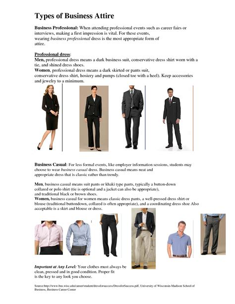 Mba School Codes by Professional Dress Vs Business Casual Dress Career Tips
