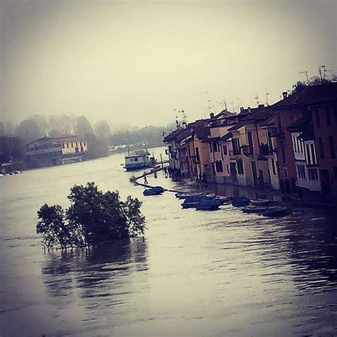 meteo domani a pavia il fiume ticino continua a crescere esondazione sempre