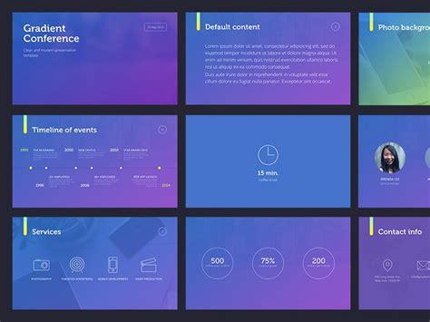 design inspiration gradient gradient presentation template by erigon ui inspiration