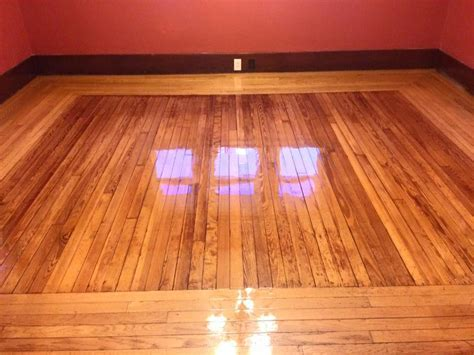 Shiny Hardwood Floors Made From Pallets HARDWOODS DESIGN