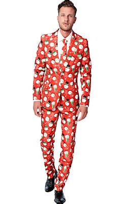 suit for christmas party costumes snowman reindeer costumes city
