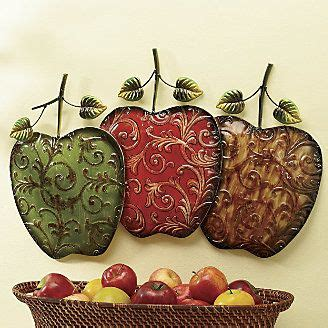 hand painted apples wall art  ginnys apple